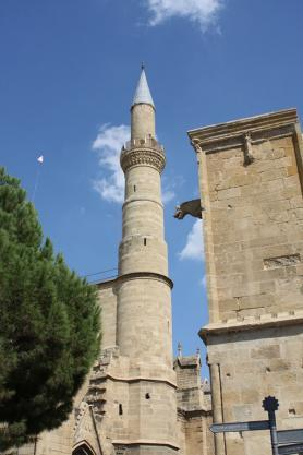 Kyperská katedrála sv. Sofie v Nikósii