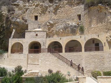 Klášter Agios Neophytos, 2. část