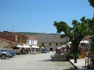 Kyperská vesnička Ómodos