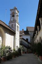 Část kláštera Panagia Chrysorogiatissa, Kypr